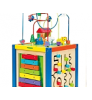 Cube multi-activité en bois Toys r us