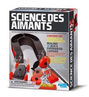 4M - Kidz Labs Expérience Science Card : Magnet