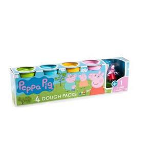 Canal Toys Pâte à modeler : 4 pots et une figurine