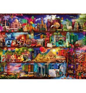 Ravensburger Puzzle 2000 pièces : Le monde des livres