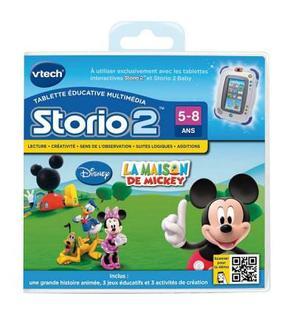 Vtech Jeu pour console Storio 2 : La maison de Mickey