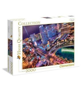 Clementoni Puzzle 2000 pièces : Las Vegas