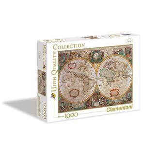 Puzzle 1000 pièces - Mappemonde antique