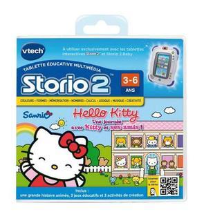 Vtech Jeu pour console Storio 2 : Hello Kitty