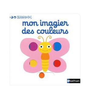 Livre Mon imagier des couleurs Kidicoc
