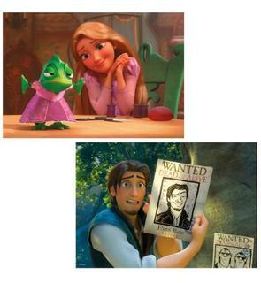 Ravensburger Puzzle 2 x 24 pièces : Princesses Disney : Raiponce