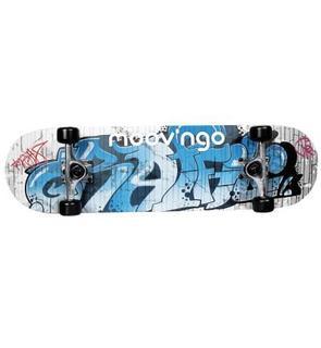Moov ngo Skate bleu et Gris 78 cm