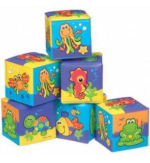 Cubes souples pour le bain (6 pièces)