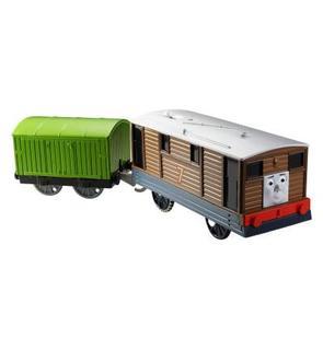 Fisher-Price Locomotive de luxe motorisée Thomas et ses amis : Toby