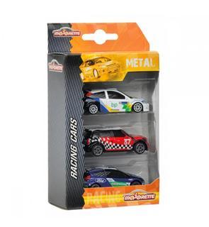 3 voitures rallye - Majorette