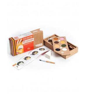 Kit maquillage 8 couleurs Vie sauvage BIO Namaki Cosmetics ©