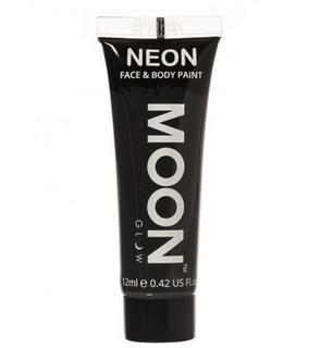 Gel visage et corps noir UV 12 ml Moonglow ©