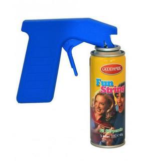 Pistolet en plastique pour bombes serpentins