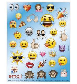 136 Stickers Autocollants Emoji?