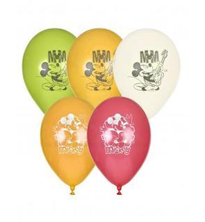 5 Ballons Mickey? 23 cm