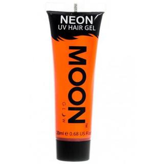 Gel cheveux orange fluo UV 20 ml Moonglow ©