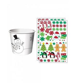 6 Petits pots de Noël à personnaliser
