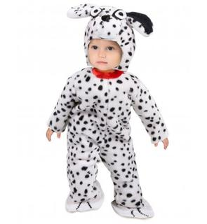 Déguisement combinaison dalmatien bébé