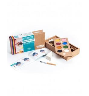 Kit maquillage 8 couleurs Arc-en-ciel BIO Namaki Cosmetics ©