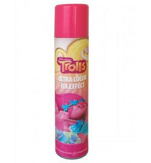 Laque fixante pour cheveux rose 200 ml Trolls?