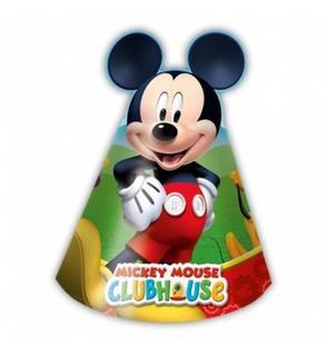 6 chapeaux carton Mickey Mouse?