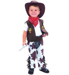 Déguisement cowboy luxe garçon