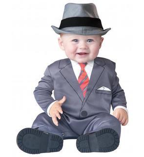 Déguisement mini homme d'affaires pour bébé - Premium