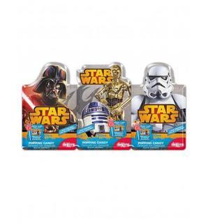 3 Sucettes et sucre pétillant Star Wars?