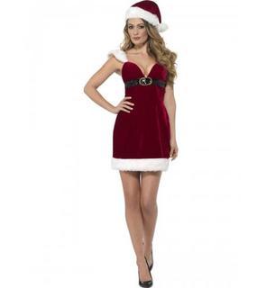 Déguisement mademoiselle sexy femme Noël