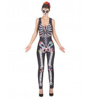 Déguisement Squelette Dia de los muertos femme