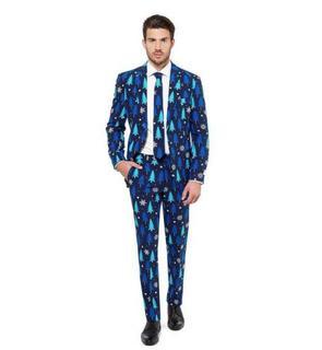 Costume Sapins bleus royals Opposuits? homme