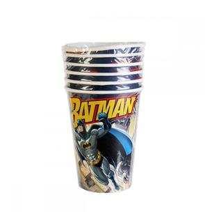 6 gobelets Batman -25cl