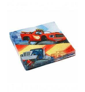 20 Serviettes en papier Blaze et les Monster Machines? 33 x 33 cm
