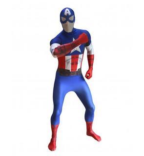 Déguisement Captain America Digital? adulte Morphsuits?