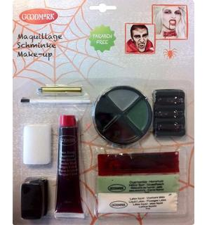 Maquillage zombie kit de luxe Halloween