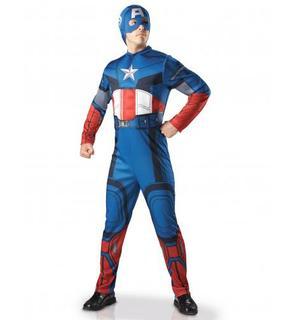 Déguisement adulte luxe Captain America - Avengers?