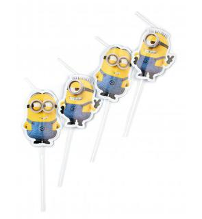 6 Pailles Lovely Minions?