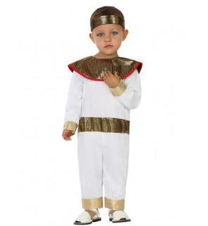 Déguisement petit égyptien blanc bébé