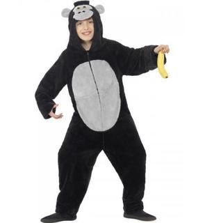 Déguisement gorille noir enfant