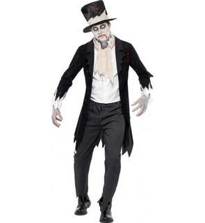 Déguisement zombie gentleman homme Halloween