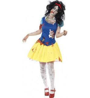 Déguisement zombie princesse conte de fées femme Halloween