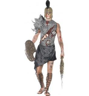 Déguisement zombie gladiateur homme Halloween