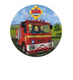 Disque azyme Sam le pompier? 20 cm