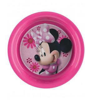 Assiette en plastique Minnie?