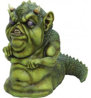 Petite créature verte Halloween