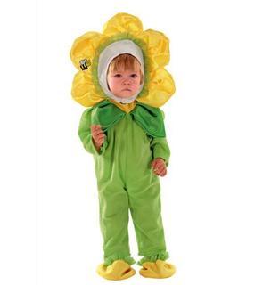 Déguisement petite fleur bébé