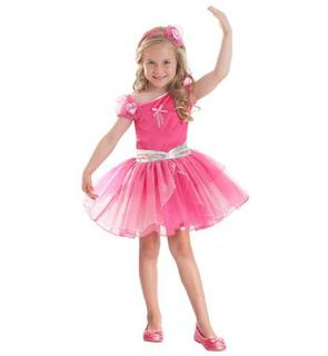 Déguisement Barbie? ballerine fuchsia fille