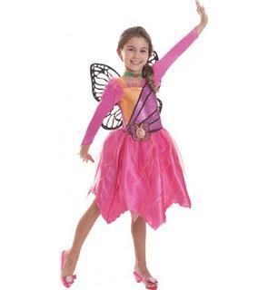 Déguisement Barbie? Mariposa fille