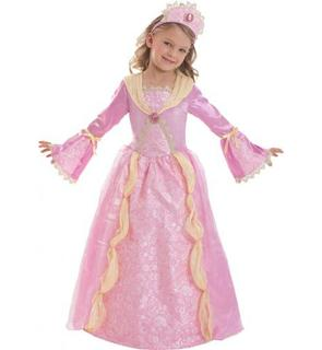 Déguisement Corolle? princesse médievale rose fille