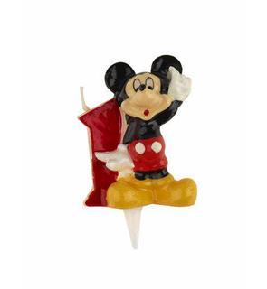 Bougie chiffre 1 Mickey?